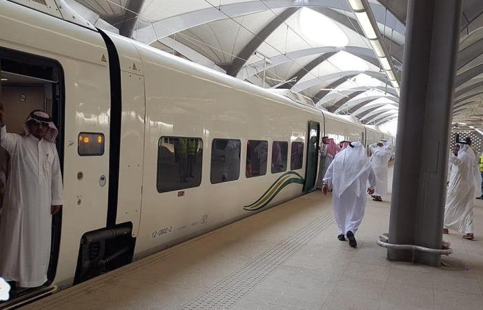 المملكة العربية السعودية اليوم انطلاق أولى رحلات قطار الحرمين من مكة إلى المدينة