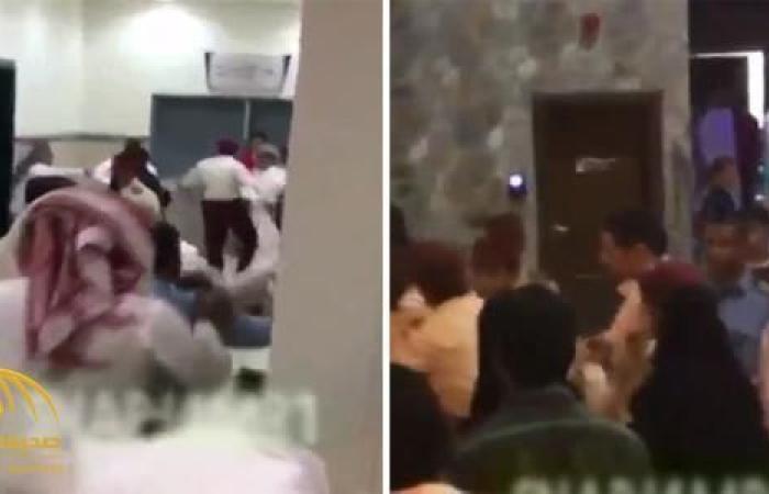 ماذا فعل وافدين مصريين عندما شاهدوا وافدة مصرية تضرب وتهان على يد شاب في الشارع العام